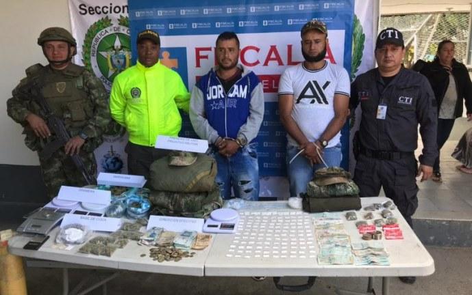 Dos hombres fueron enviados a la cárcel por tráfico de estupefacientes en Piendamó, Cauca
