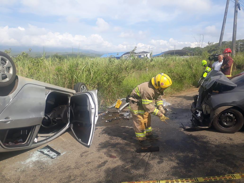Accidente en la avenida Cañasgordas dejó 6 personas heridas