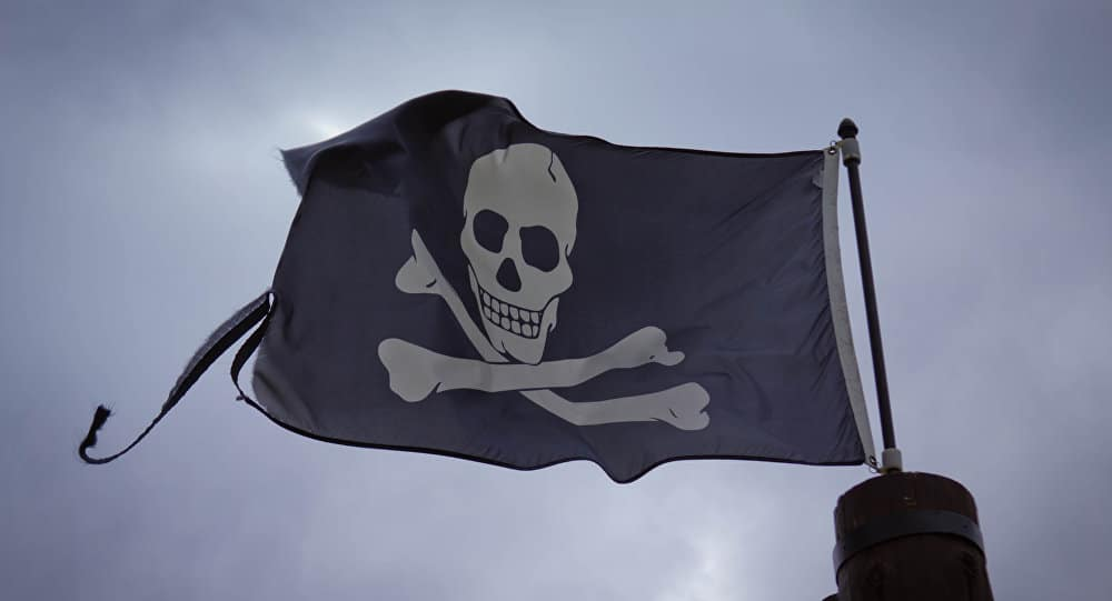 Un barco italiano es atacado por piratas en el Golfo de México