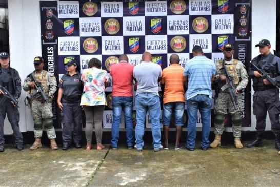 Capturados cinco sujetos que transportaban 500 kg de droga al mes hacia Centroamérica