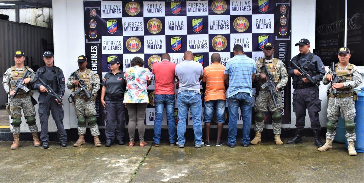 Capturados 5 sujetos que transportaban 500 kg de droga hacia Centroamérica