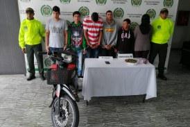 Judicializan 5 presuntos integrantes de banda delictiva en Buga