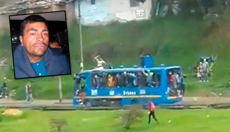 Esto pasó con hombre que robó bus del SITP y lo estrelló contra un almacén en Bogotá