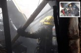 Fuerte incendio consumió una edificación en Terrón Colorado