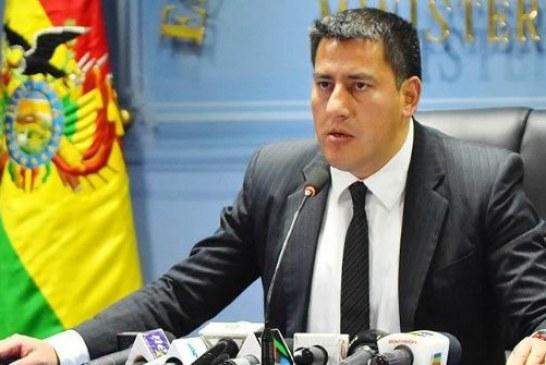 Dimite el ministro de Defensa boliviano por desacuerdo con líderes de protesta