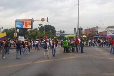 Con total normalidad transcurren las marchas en Cali por Paro Nacional #27N