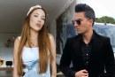 Pipe Bueno Y Luisa Fernanda W, captados en cámara dándose un apasionado beso