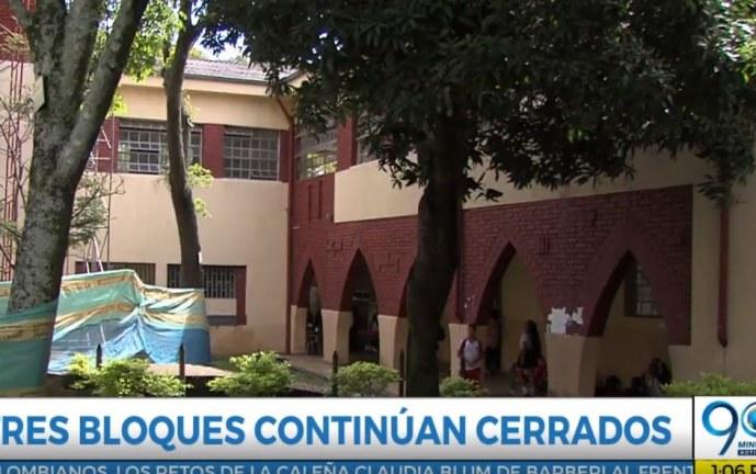 Estudiantes del Santa Librada siguen a la espera de la reconstrucción de parte del colegio