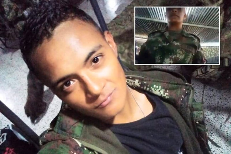 Video: soldado se quitó la vida tras grabar video de apoyo al paro nacional