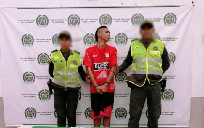 Capturado en flagrancia hombre que llevaba cerca de 22 gramos de cocaína en Tuluá