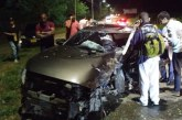Conductor habría fallecido luego de chocar contra un árbol en la Avenida Cañasgordas