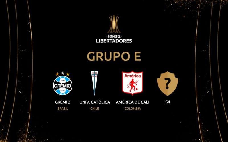 América enfrentará a otros dos equipos poderosos del continente en su grupo de Libertadores