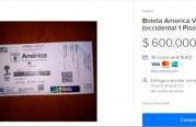 Boletas para la final América- Junior se están vendiendo en internet a precios 'abusivos'