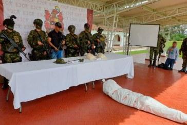 Cae presunto cabecilla de grupo residual de las Farc en Cauca