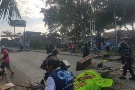 Denuncian abuso de autoridad tras desalojo de manifestantes en Puente de Juanchito