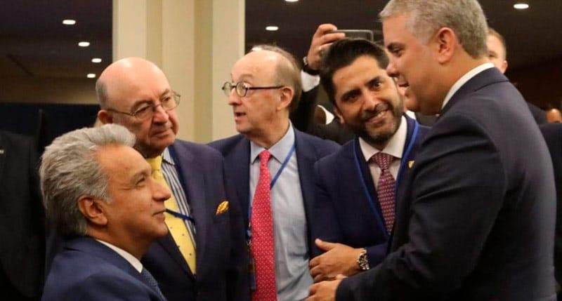 Duque y Moreno buscarán estrechar relaciones en gabinete binacional en Cali