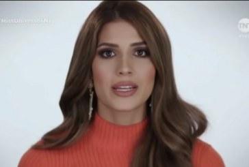 Durante gala de Miss Universo, Gabriela Tafur habló sobre Paro Nacional en Colombia