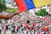 Protestas en Colombia bajan de intensidad en medio de reclamos salariales