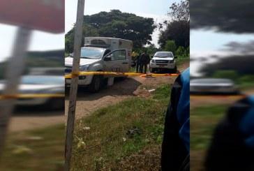 Sin identificar mujer, cuyo cadáver fue arrojado a lote baldío con una bolsa en la cabeza