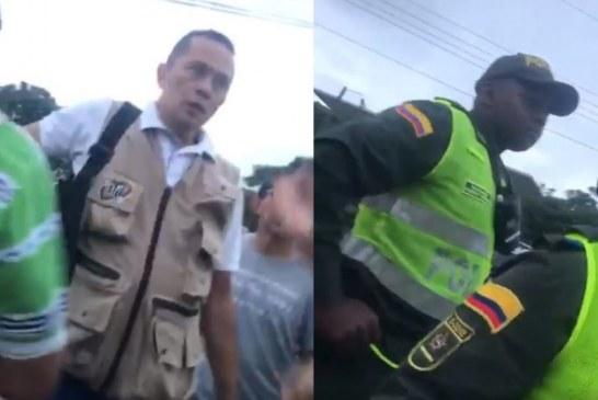 """Negro hp"": rechazo por ataque racista a Policía por parte de presidente de la CUT Valle"