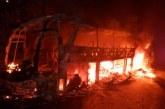 Oleada de violencia en el Bajo Cauca deja 3 muertos y 6 vehículos quemados