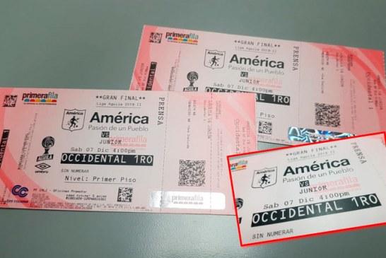 ¿Quieres ir a la final América – Junior? Sigue los siguientes pasos