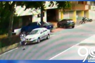 Revelan detalles sobre hurto en una unidad residencial de Cali que terminó en tiroteo