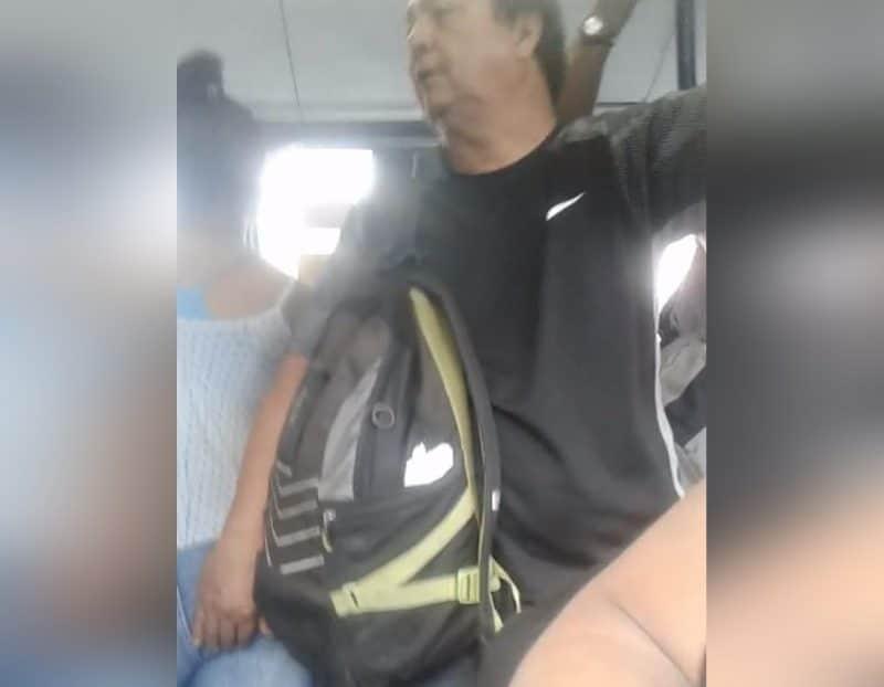 Video: hombre mayor de edad le tocó la 'cola' a una pasajera en el Mío