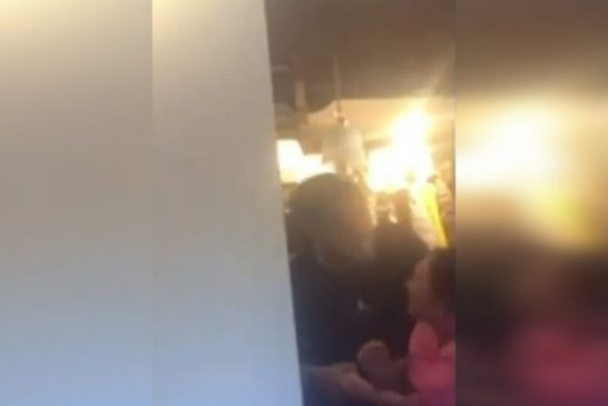 En video quedó registrada agresión de ex jugador del Deportivo Cali a su pareja