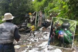 Accidente de tránsito cobró la vida de al menos nueve personas en vía Panamericana