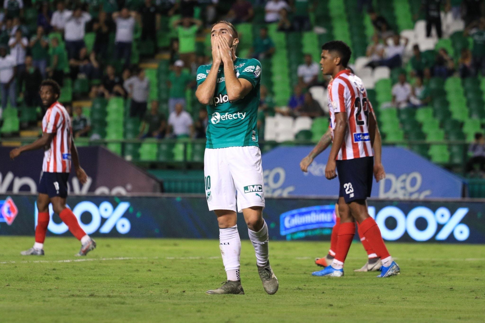 Deportivo Cali no pasó del cero ante Junior en su debut como local