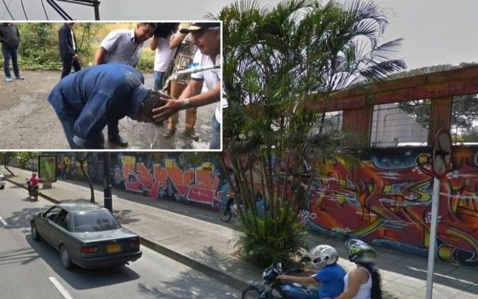 """Alcalde terminó """"bañado"""" tras ataque de abejas en lote del antiguo Club San Fernando"""