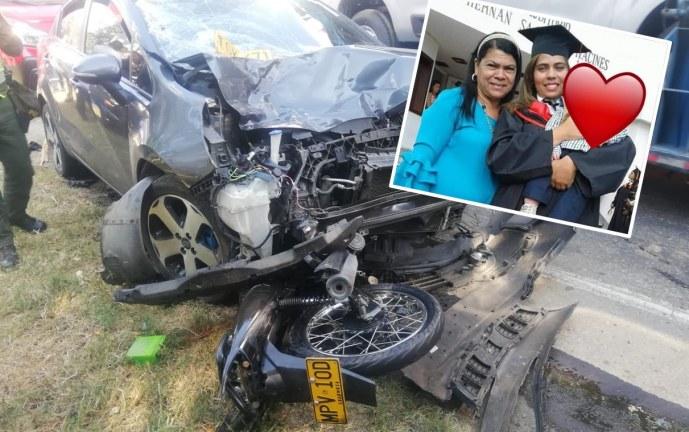 Aparatoso accidente de tránsito cobró la vida de madre e hija en vía Mediacanoa – Buga