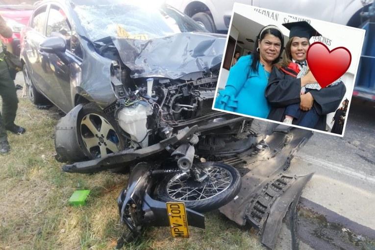 Aparatoso accidente de tránsito cobró la vida de madre e hija en vía Mediacanoa - Buga