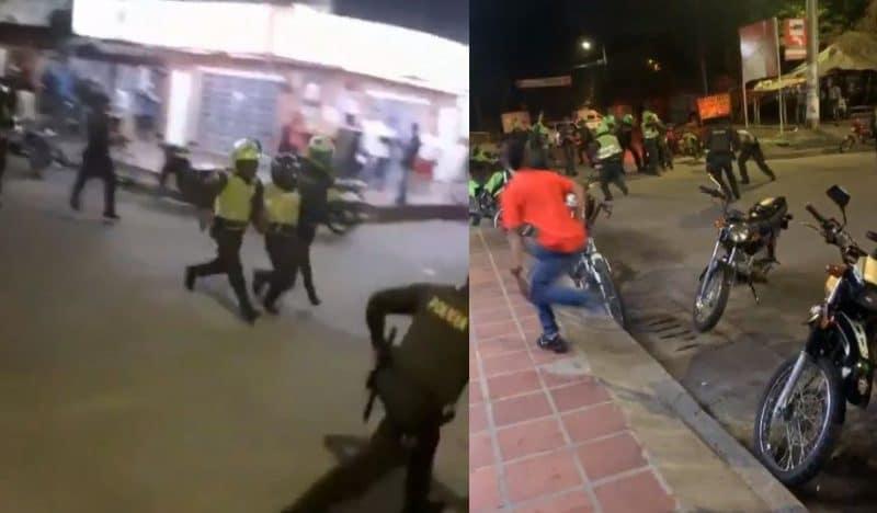 Asonada por presunto abuso sexual de una menor dejó cuatro policías heridos en Jamundí