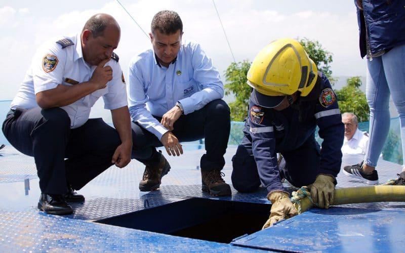 Cristo Rey ya cuenta con reservorio de agua para atender incendios forestales