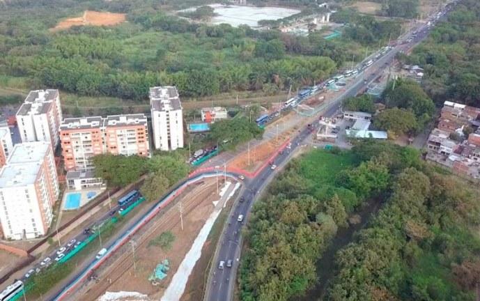 ¡OJO! Este miércoles inician cierres viales por construcción de puente en la vía Cali – Jamundí