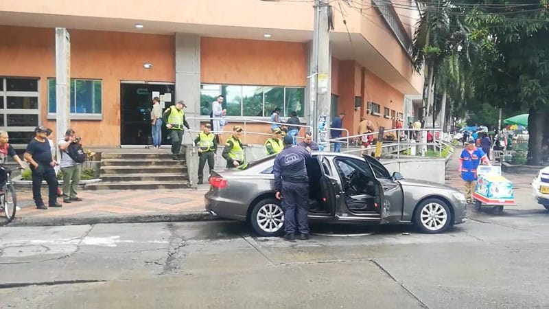 Identifican a mujer que falleció tras atentado sicarial cuando se movilizaba en un Audi