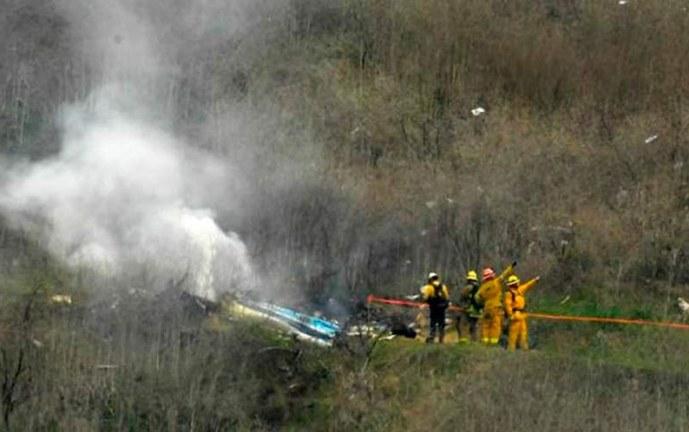 Nueve personas estaban en el helicóptero siniestrado de Bryant, según manifiesto de vuelo