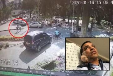 Ofrecen recompensa de $10 millones para dar con agresor de agente de tránsito en Cali