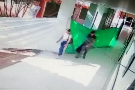 En video: costoso equipo para reanimar pacientes infartados fue robado en hospital de Roldanillo