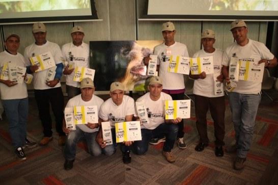 Campesinos de la vereda El Diamante, ceden sus tierras para proteger la vida del Oso Andino
