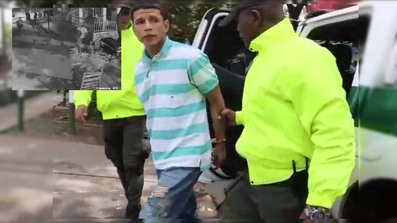Autoridades capturaron al responsable del homicidio de un patrullero de la Policía en Cali