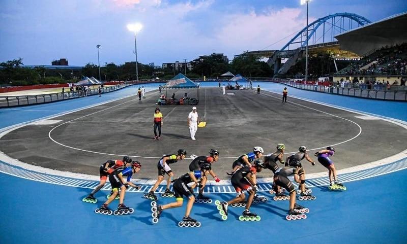 ¡Como nueva! Pista mundialista reabrió sus puertas a más de 800 patinadores en copa Valle Oro Puro