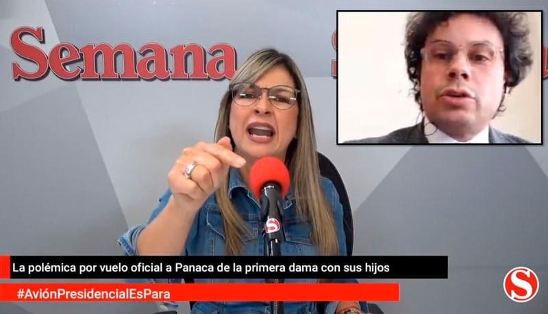 """""""Eso es usted, un cobarde fracasado"""": Vicky Dávila A Hassan Nassar, vocero de la Presidencia"""