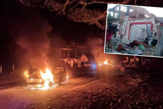 Las hipótesis tras la explosión de carro en el Cauca que dejó siete muertos