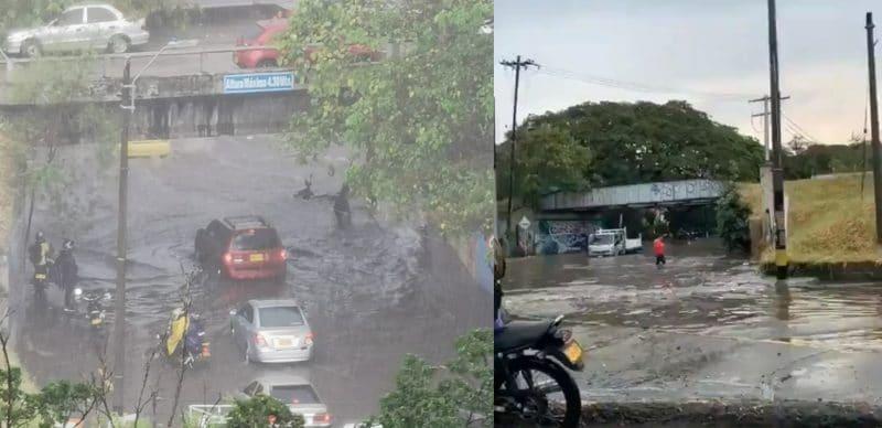 Hundimiento del puente de Chipichape colapsó por basuras y fuertes lluvias