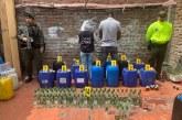 Incautados insumos químicos y licor de contrabando en vivienda de Cali