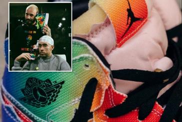 El detalle 'oculto' que J Balvin llevó en sus zapatos durante show del Super Bowl