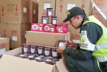 Camión fue inmovilizado con más de cinco mil kits de porcelana ilegal asiática